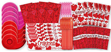 Valentines Day Create and Color Kit 48ct<span class=messagesale><br><b>21¢ per piece!</b></br></span>