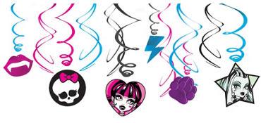 Monster High Swirl Value Pack 12ct