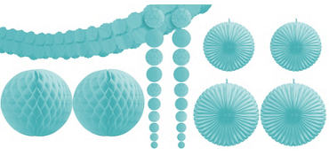Robin's Egg Blue Party Decorating Kit 9pc