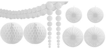 White Party Decorating Kit 9pc