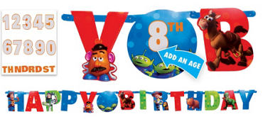 Toy Story Letter Banner 10 1/2ft