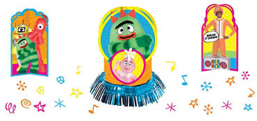 Yo Gabba Gabba! Table Decorating Kit 23pc