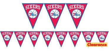 Philadelphia 76ers Pennant Banner