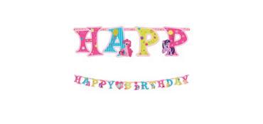My Little Pony Birthday Banner 10ft
