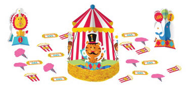 1st Birthday Fisher-Price Circus Table Decorating Kit 23pc