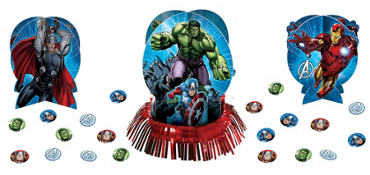Avengers Table Decorating Kit 3pc Plus Confetti