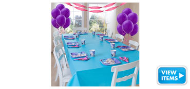 Frozen Party Supplies Basic Party Kit