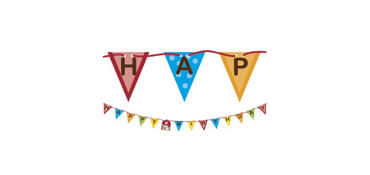 Farmhouse Fun Birthday Banner