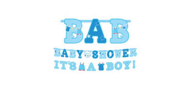 It's a Boy Baby Shower Banners 2ct