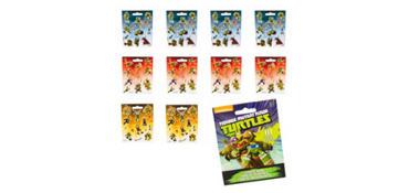 Teenage Mutant Ninja Turtles Sticker Book 9 Sheets