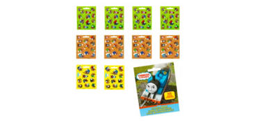 Thomas the Tank Engine Sticker Book 9 Sheets
