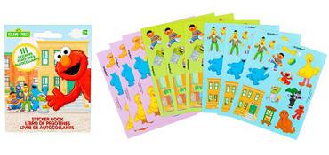 Sesame Street Sticker Book 9 Sheets