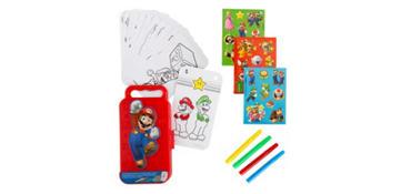 Super Mario Sticker Activity Box