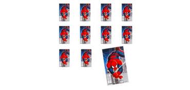 Jumbo Spider-Man Stickers 24ct