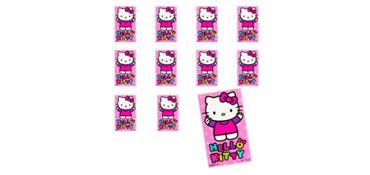 Jumbo Hello Kitty Stickers 24ct