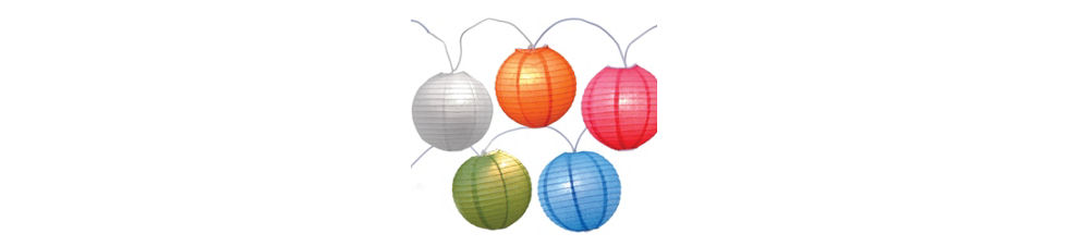 Multicolored Christmas Lights Party City