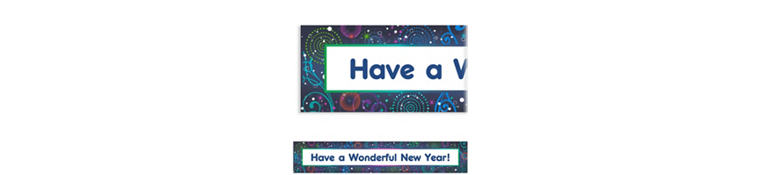 Custom Midnight Festivities New Year's Banner 6ft