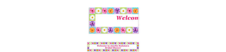 Custom In Bloom Banner 6ft