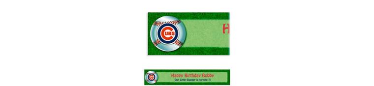Custom Chicago Cubs Banner 6ft