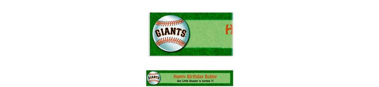 Custom San Francisco Giants Banner 6ft
