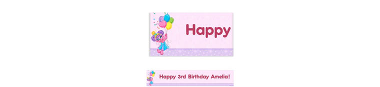 Abby Cadabby Custom Birthday Banner 6ft