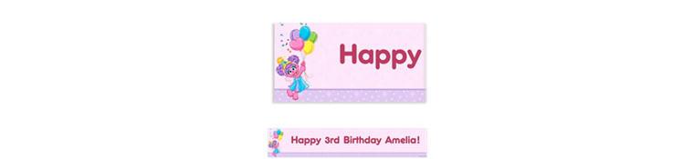 Abby Cadabby Custom Birthday Banner 6ft