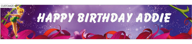 Magical Tink Custom Banner 6ft