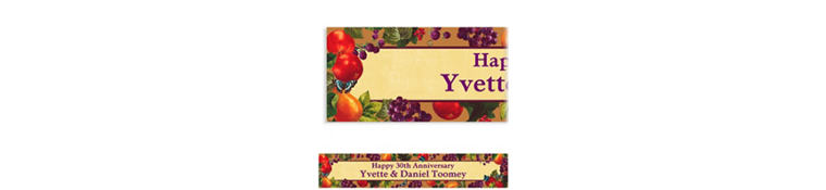 Custom Country Living Banner 6ft