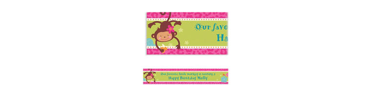 Monkey Love Custom Banner 6ft