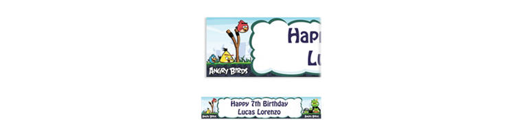 Angry Birds Custom Banner 6ft