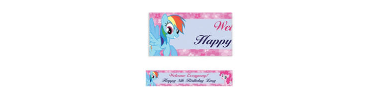 My Little Pony Friends Custom Banner 6ft