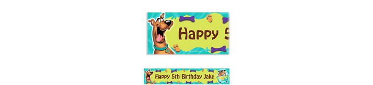 Scooby-Doo Where Are You! Custom Banner