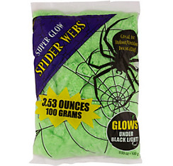 Black Light Stretch Spider Web