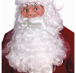 Santa Wig & Beard Set Deluxe
