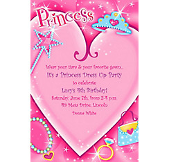 Princess Custom Invitation