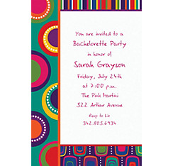 Cocktail Chic Custom Invitation