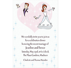Custom Wedding Couple Wedding Invitations