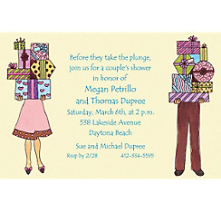 Couple's Shower Custom Bridal Shower Invitation