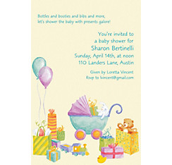 It's a Baby Shower! Custom Baby Shower Invitation