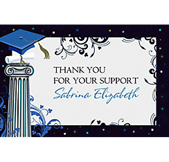 Custom Dean's List Thank You Notes