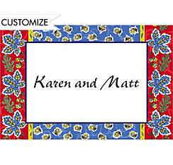 Country French Border Custom Thank You Note