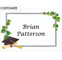 Custom Grad Cap & Ivy Thank You Notes