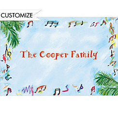 Summer Musicians Custom Thank You Note