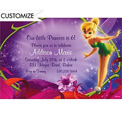 Magical Tink Custom Invitation
