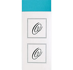 Monogram Envelope Seals O 30ct