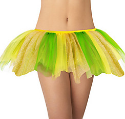 Adult Yellow and Green Tutu