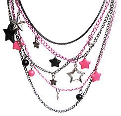 Multi Chain Star Necklace