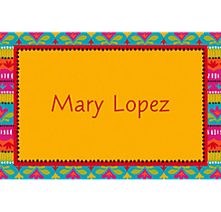 Fiesta Brights Custom Thank You Note