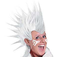 White Mohawk Wig