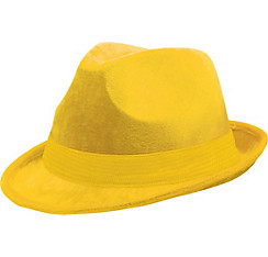 Yellow Suede Fedora